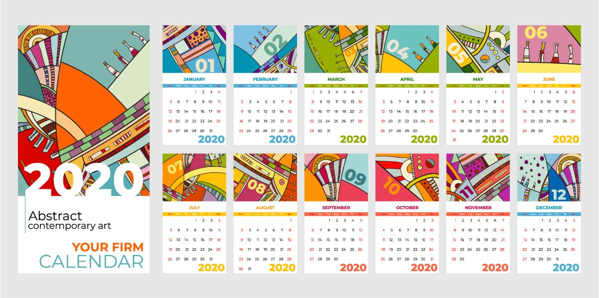 calendarios personalizados