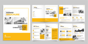 impresión de brochures