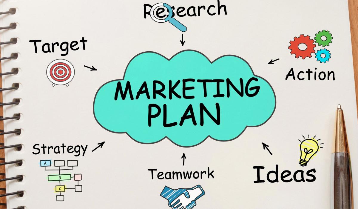notas de plan de marketing