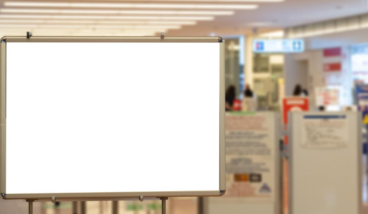 señalización digital interior